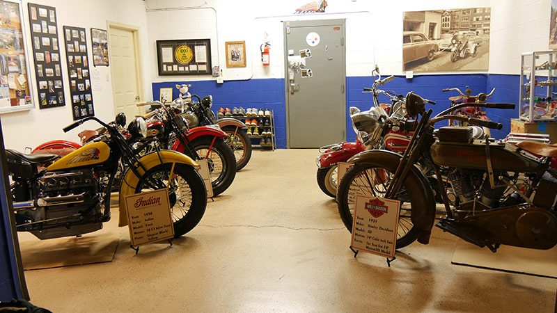 Antique Harley-Davidsons