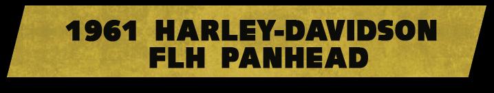 1961 Harley-Daividson Panhead